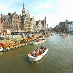 Ghent old medieval port
